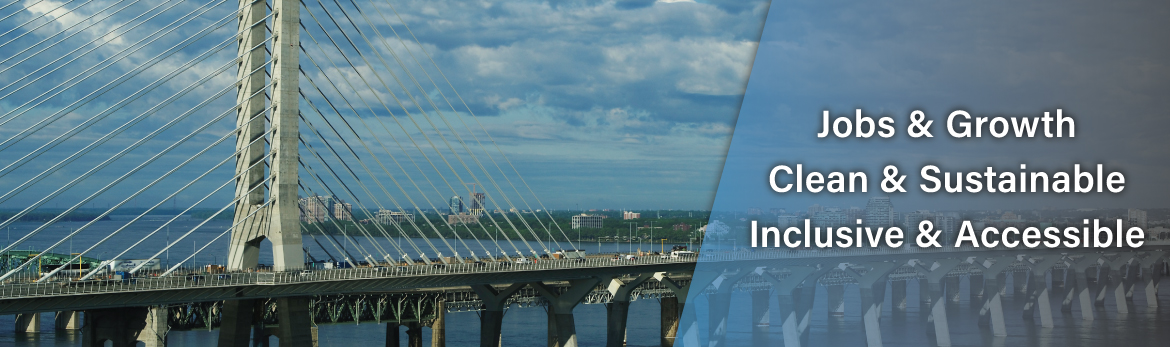 Tab 1: Investing in Jobs and Growth (Samuel De Champlain Bridge, Montreal, QC)