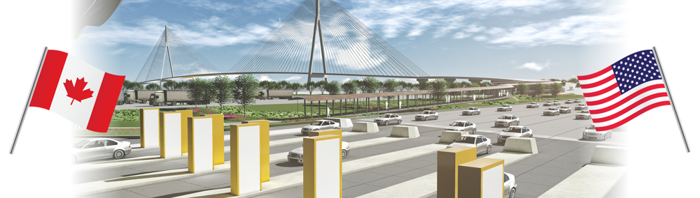 The Gordie Howe International Bridge Project banner